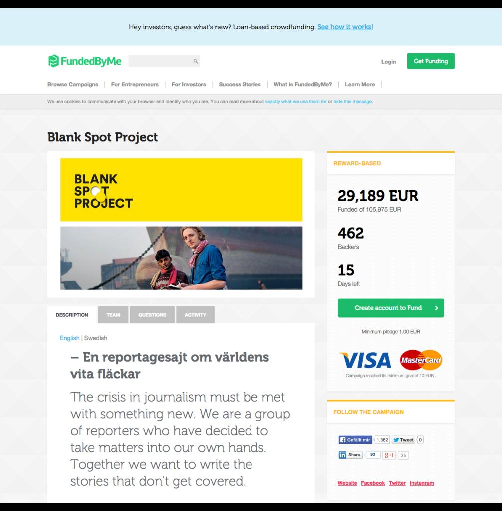 Blank Spot Project by Martin Schibbye   FundedByMe (2)