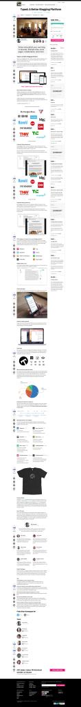 Typed  A Better Blogging Platform   Indiegogo